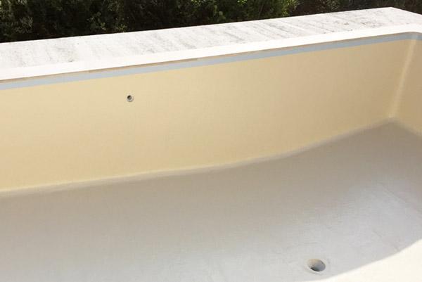 réparation liner piscine